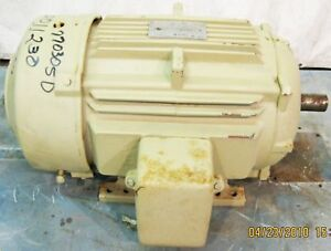 Ge Energy Saver Extra Severe Duty Ac Motor 30 Hp