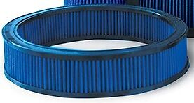 Blue 13 Round High Flow Air Filter 5112 Fit Most Ford Mopar Performance