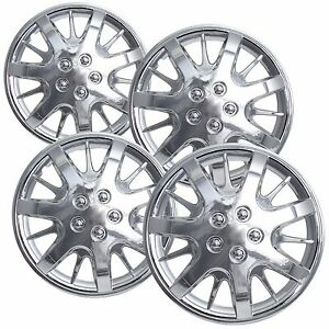 New Chevy Monte Carlo Impala 16 Wheelcover Hubcap Set Of 4 Chrome