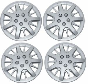 New Chevy Monte Carlo Impala 16 Wheelcover Hubcap Set Of 4 Silver