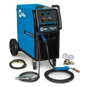 Miller Millermatic 252 Mig Welder Complete Package 907321