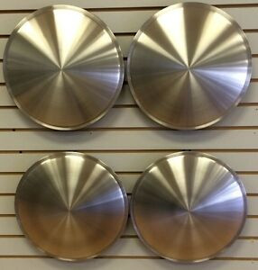 14 Racing Disk Full Moon Hubcap Wheelcover Set