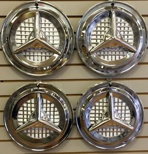 14 Olds Fiesta Style Flipper Hubcaps Wheelcover Set