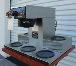 Bunn Crtf5 Automatic Coffee Brewer With 5 Warmers