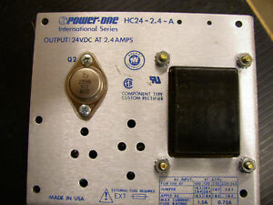 Power one Power Supply Hc 24 2 4 a