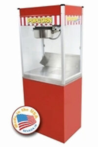 Commercial 16 Oz Popcorn Machine Theater Popper Stand Paragon Classic Pop Clp 16