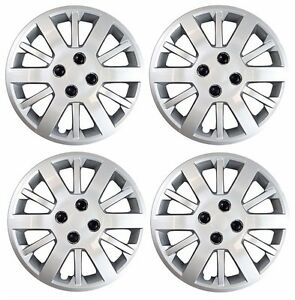 New Chevrolet Cobalt 15 Bolt On Hubcap Wheelcover Set Of 4 Silver