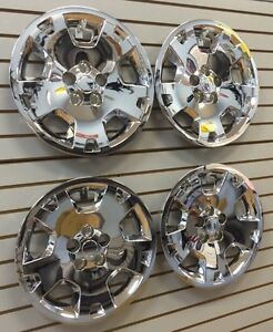 2005 2007 Dodge Magnum Charger 17 Bolt on Hubcaps Wheelcover Set Of 4 Chrome