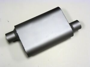 2 Chamber Offset Offset 2 5 Inch Performance Exhaust Muffler Silencer 42543