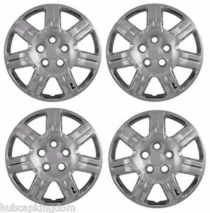 New 2006 2011 Honda Civic 16 Bolt On Hubcaps Wheelcovers Set Of 4 Chrome