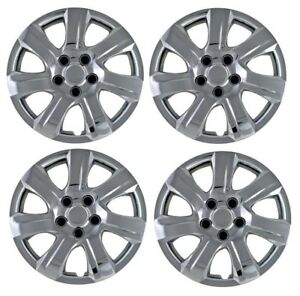 New 2010 2011 Toyota Camry 16 Chrome Hub Cap Hubcaps Wheelcover Set Of 4