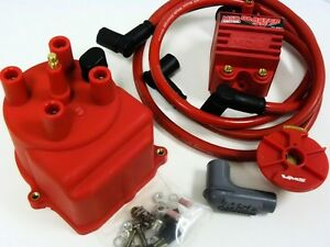 Vms 88 91 Honda Civic External Coil Distributor Cap Conversion Kit Msd Blaster