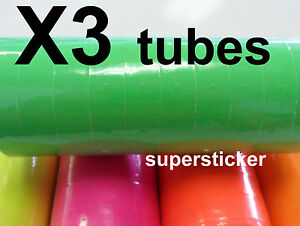 Green Price Tags For Mx 6600 2 Lines Gun 3 Tubes X 14 Rolls X 500
