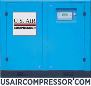 New Us Air 50 Hp Rotary Screw Compressor Gardner Denver Pump Airend Air End 50hp