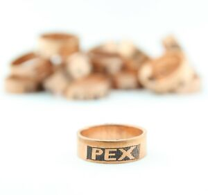 100 1 2 Pex Copper Crimp Rings By Sioux Chief Made In Usa 649x2 Lead Free