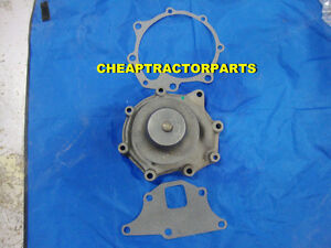 Ford Tractor Water Pump Pulley Gaskets Less Rear Housing 9000