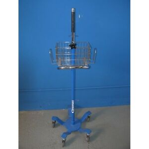 Ge Critikon Dinamap Rolling Stand Ref 3215e Works With Pro Series