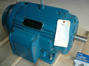 30 Hp Electric Motor 415 Volt 50 Hz 286ts Weg W22 Chs80518 Severe Duty 2930 Rpm