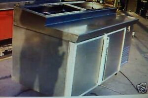 Silver King Pizza Prep Table Model Sk Dr 621 2 Doors lids 900 Items On E Bay