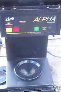 Coffee Maker Automatic 220v Alpha Digi Control 3 Elem 900 Items On E Bay