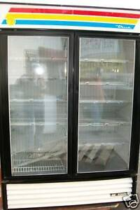 Freezer true Glass Doors 220 V 1 Ph Shelves Works 900 Items On E Bay
