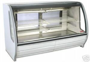 Deli Box B new 115 V Curved Glass low Height T ray 900 Items On E Bay