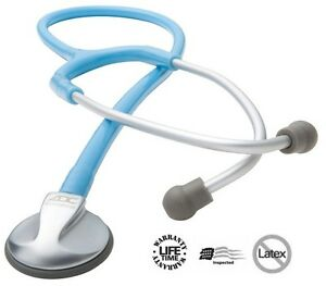 New Adc Adscope 614 Series Pediatric Multifrequency Professional Stethoscope