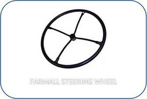 P 557282r91 Steering Wheel 20 4 Spoke Ih Farmall M 400 450