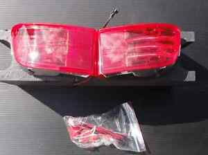 2002 2003 2004 2005 2006 2007 2008 Toyota Land Cruiser Prado 120 Led Fog Red