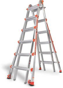 26 1a Classic Little Giant Ladder Includes Wall Standoff New