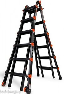 26 1a Little Giant Ladder Pro Series W Platform Wheels 10126bp