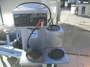 Coffee Maker auto Curtis Water Tab 115 V Mod Alpha 900 Items On E Bay