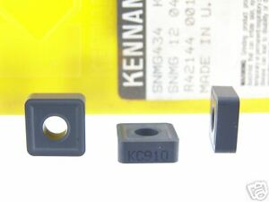 30 New Kennametal Snmg 434 Kc910 Carbide Inserts O176s