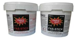Fasco Epoxies 110 Epoxy Glue Gallon Kit wood Aluminum Fiberglass