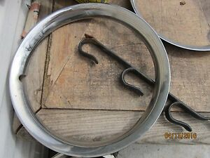 1954 1955 Chevy Wheel Trim Rings 54 55 Chevrolet