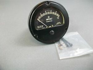 Ruggedized Ideal Precision Meter Co Dc Ammeter Mr26b001dcaar