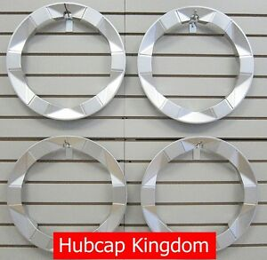 New 2004 2009 Toyota Prius Wheel Beauty Outer Trim Ring Set