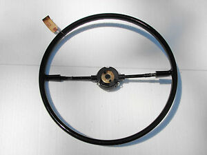 52 Mercury Nos Blck Steering Wheel