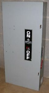 O Ge General Electric 200 Amp Safety Switch Tg4324