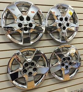 New 2008 Chevrolet Malibu 16 Bolt on Hubcap Wheelcover Set Of 4 Chrome
