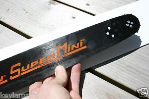 New 050 Gauge Cannon S1 Supermini 20 Inch Chainsaw Bar 3 8 Pitch 050 Gauge