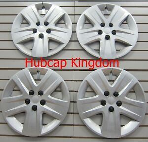 New 2010 2011 Chevy Impala 17 Wheelcovers Hubcap Silver Bolt on Set