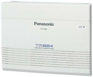 Panasonic Kx ta824 Phone System New