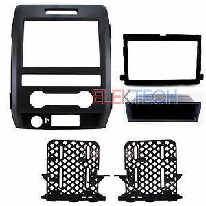 Radio Replacement Dash Mounting Installation Kit 1 Or 2 Din For Ford F150