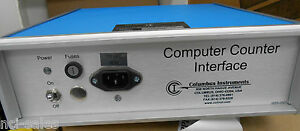 Columbus Instruments Computer Counter Interface Cci Up To 128 Channel Capability
