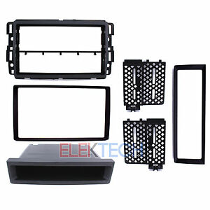 Radio Replacement Dash Install Kit 2 Din W Pocket For Chevrolet Gmc Buick Hummer