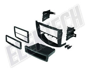 Radio Replacement Dash Mounting Kit Install Single Double Din For Toyota Rav4