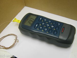 Omega Engineering Hh2001kl Type K Digital Thermocouple Thermometer