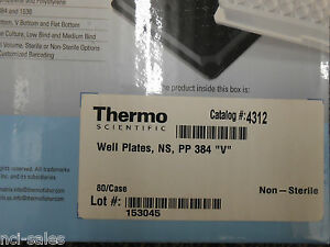Thermo Scientific 4312 Matrix Microplates 384 Well V Bottom