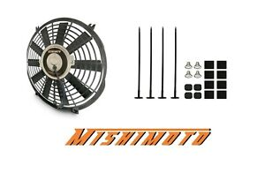 Mishimoto Performance Black 12 Slim Electric Radiator Cooling Fan